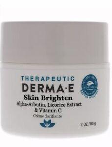 Skin Brighten by Derma-E for Unisex - 2 oz Brightener