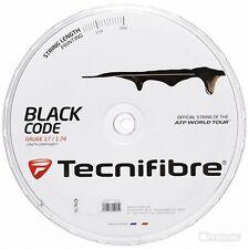 TENNIS STRING TECNIFIBRE BLACK CODE 200M  2 GAUGES