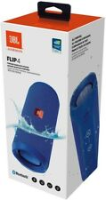 JBL Flip 4 Portable Bluetooth Wireless Speaker - Blue Waterproof IP-X7 Brand New