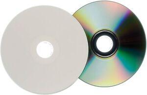 Traxdata Printable CD-R Recordable Inkjet Blank CD's In Sleeves 80 Min 52x 700MB