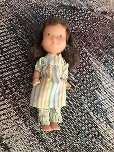 "Vintage 1975 6"". Vinyl Holly Hobbie Doll by Knickerbocker"