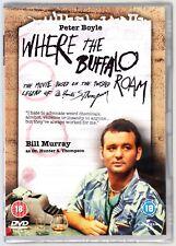 WHERE THE BUFFALO ROAM (1980) DVD Bill Murray Region 4 (AUS) New & Sealed