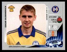 Panini Liga de Campeones 2012-2013 Edgar olekhnovich FC Bate Borisov no. 436