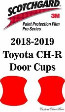 3M Scotchgard Paint Protection Film Pro Series Clear 2018 2019 Toyota CH-R CHR