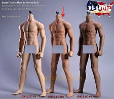 1/6 Super Flexible Male Muscular Seamless Body SUNTAN JIAOUDOL ❶USA IN STOCK❶