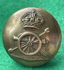 2 WW1 WW2 era Royal Artillery 24mm brass buttons