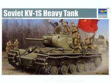 Trumpeter Soviet KV-1S Heavy Tank Russian Solid 1:3 5 Kit Set 01566