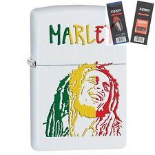 Zippo 29308 Bob Marley Lighter with *FLINT & WICK GIFT SET*