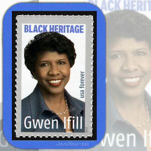 2020  GWEN IFILL  Black Heritage  USPS  Forever®  Individual  MINT Stamp  # 5432
