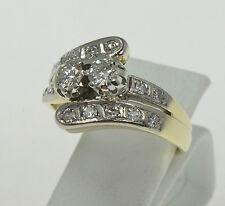 Brillantring Art Deco Diamantring Ring Goldring Brillanten Echtschmuck Nr.1440