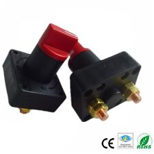 Boat Car Van Truck 100A Battery Disconnect Rotary Isolator Cut Off Kill Switch