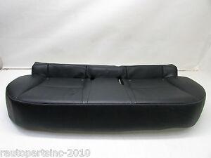 2012 LEXUS CT 200H REAR SEAT BENCH BLACK LEATHER LA20 OEM 12