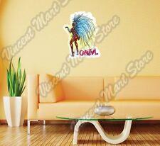 """Brazilian Carnival Brazil festival Wall Sticker Room Interior Decor 20""""X25"""""""