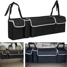 Universal Auto Car Organizer Trunk Rear Back Seat Storage Bag Pocket Oxford 90cm