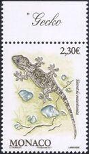MONACO 2011 parete geco/lucertola/Animali/NATURA/Fauna Selvatica/Rettili 1 V (mc1089)
