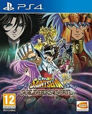Saint Seiya Soldiers Soul PS4 PlayStation 4 Video Game Mint Condition UK Release