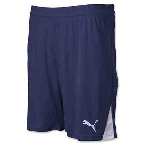 PUMA Men's Team Shorts W/O Inner Slip Navy 701275 06