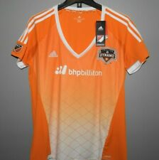 MLS Adidas Houston Dynamo Soccer Jersey New Womens Sizes