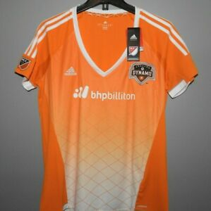 MLS Adidas Houston Dynamo Soccer Jersey New Womens Sizes