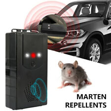 Car Mini Ultrasonic Mouse Rat Rodent Pest Repeller Battery Powered Home Kitchen