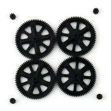 Parrot AR Drone 1.0 2.0 Upgrade Motor Pinion Gear Gears &Shaft Replacement Blac