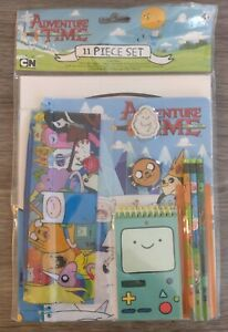Cartoon Network Adventure Time 11-piece Set School Supply (Brand New)