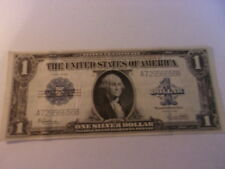 SILVER CERTIFICATE SERIES OF 1923 LARGE SIZE