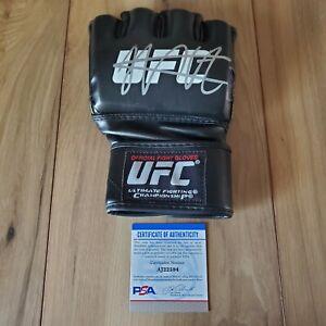 Khabib Nurmagomedov UFC signed autographed Glove coa PSA/DNA #AJ22594