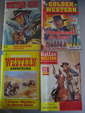 5 St.Westernromane Western-King Kelter Western Golden Abenteuer Band5,122,12,403