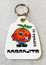 RARE Vintage Keychain Naranjito ✱ SPAIN 82 FIFA WORLD CUP ✱ Porte-Clés Football