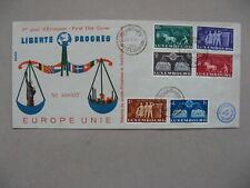 LUXEMBOURG, cover FDC 1951, European Union, No 000337