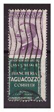 REGNO 1924 - PUBBLICITARI  TAGLIACOZZO  50  Cent. USATO