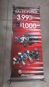 Yamaha Raptor 700R Viking EPS TT-R50 YZ450 FJR1300 Dealer Banner