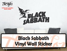 Black Sabbath Rock Band Custom Vinyl Wall Sticker