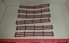 1/64 ERTL FARM COUNTRY STANDI TOY QTY OF 6 BROWN FENCE PANELS COWS CATTLE HORSE