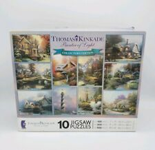 THOMAS KINKADE PAINTER OF LIGHT 10 JIGSAW PUZZLE COLLECTOR'S EDITION 2008 CEACO