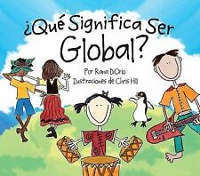 Que Significa Ser Global? (Hardback or Cased Book)