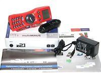 Roco / Fleischmann 10825 Digitalzentrale z21 start + Roco MultiMaus 10810 - NEU