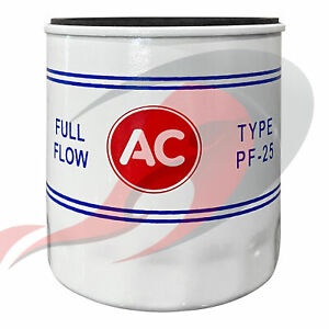 Genuine GM ACDelco Vintage Classic PF25 Oil Filter AC Logo 19187300