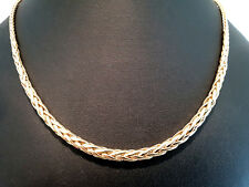 collier Palmier chute or jaune 18 carats-750/1000 Gold