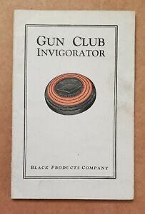 1920s Gun Club Invigorator -- Black Diamond Targets, Black Products Company