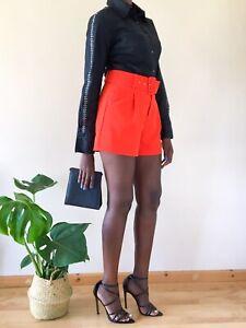 ROCCOBAROCCO Women's Black Shirt Work Smart Size M 10 Designer