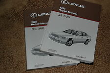 1995 Lexus GS 300 Repair Manual Complete Set of 2 NEW MINT FREE shipping