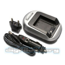 Camera Battery Charger Canon BP-208 BP-214 BP-308 BP-315 BP-808 BP-809 Wall+Car