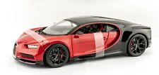 Bugatti Chiron Sport Red/Black 1:18 Model Car Maisto Special Edition, New