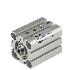 A●SMC RQB32-35 Through-Hole Standard Compact Cylinder With Air Cushion New