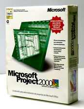 MICROSOFT → PROJECT 2000 WIN32 ESPAÑOL CD → 076-00821 → ST510314 (18-03-02)