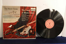 Herbert Marshall, The Snow Goose/Count Of Monte Cristo, Decca DL 9066, Audiobook
