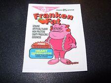 "RON ENGLISH POPAGANDA Cereal Franken Fat 2.5"" Sticker decal frm poster art print"