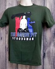 The Gator Pit Strongman Weightlifting Short Sleeve T-Shirt Size S